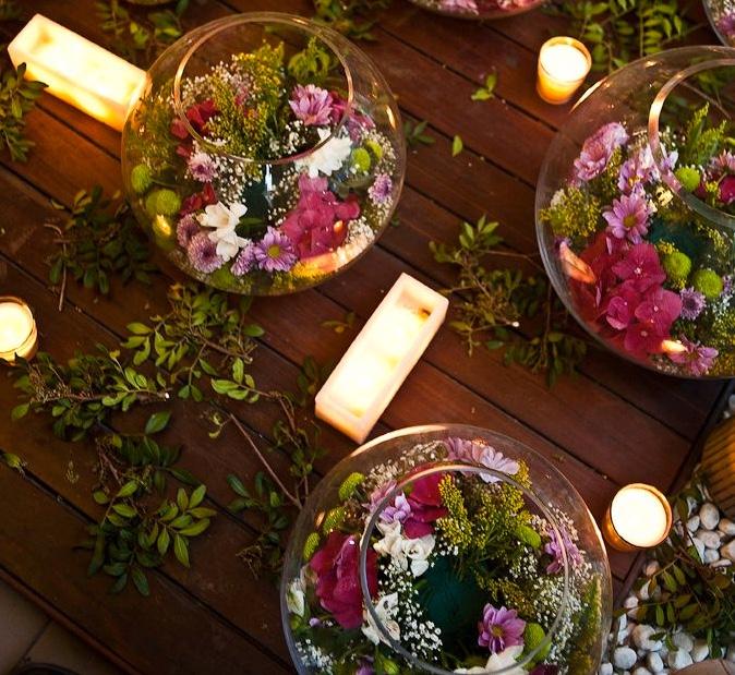 fishbowl vases