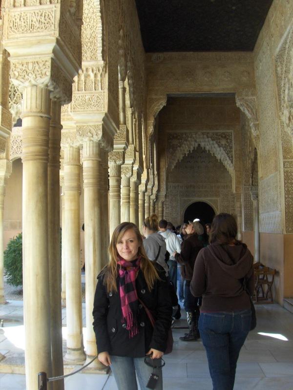 la alhambra, granada, Spain, españa, travel, study abroad CIEE