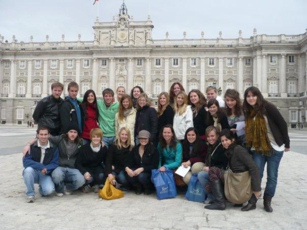 CIEE study abroad 2009 Madrid
