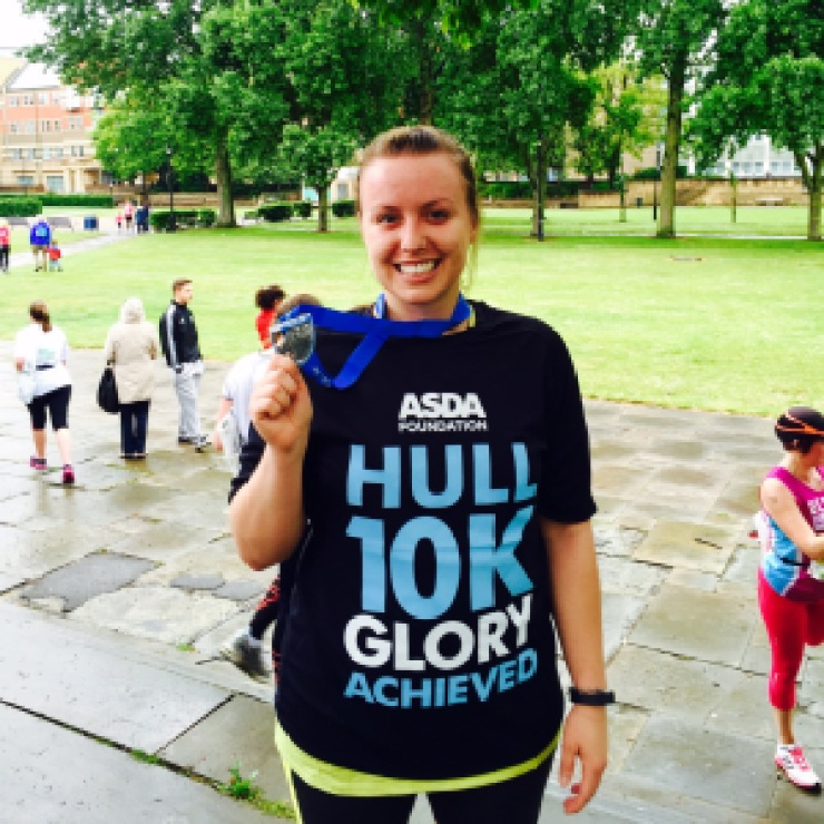 After the race, Hull 10k, ASDA Foundation, 2015
