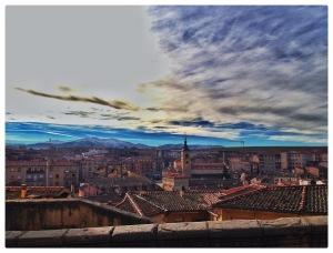 #Segovia #Spain #Travel #Sky #Architecture