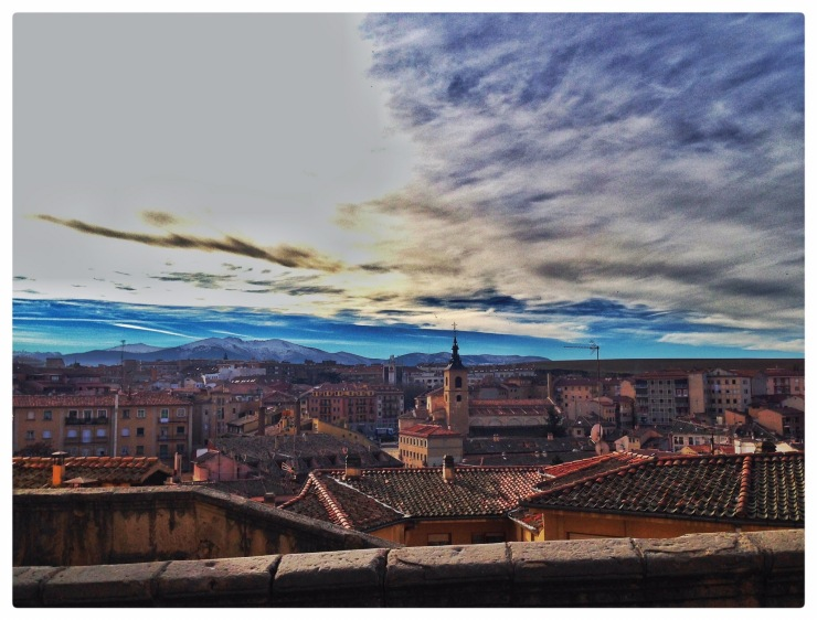 #Segovia #Spain #Travel #Sky #Architecture