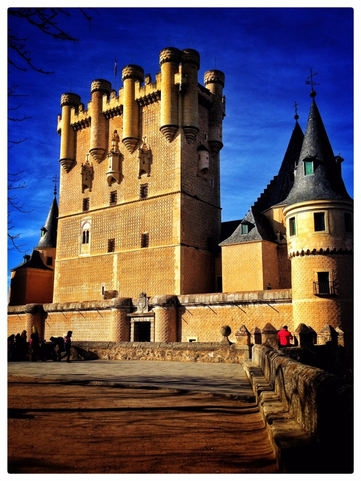 #AlAlcazar #Spain #Castle #Europe #Segovia #Beautiful #Architecture #History
