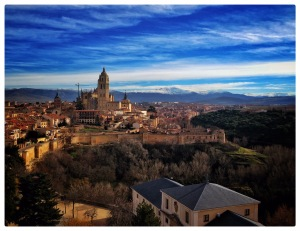 #Segovia #Spain #Europe #City #Mountains #Madrid #Photography #Cathedral #Church #architecture