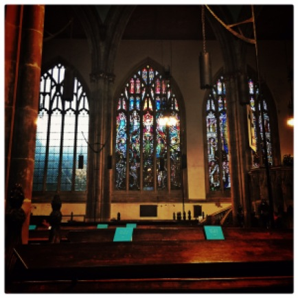 Hull Trinity Church, stained glass