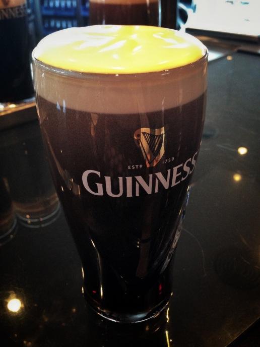 Guinness beer tastes better in Dublin