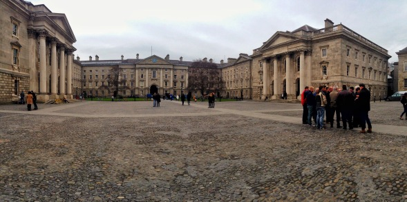 Trinity College, Dublin, Ireland, Panorama