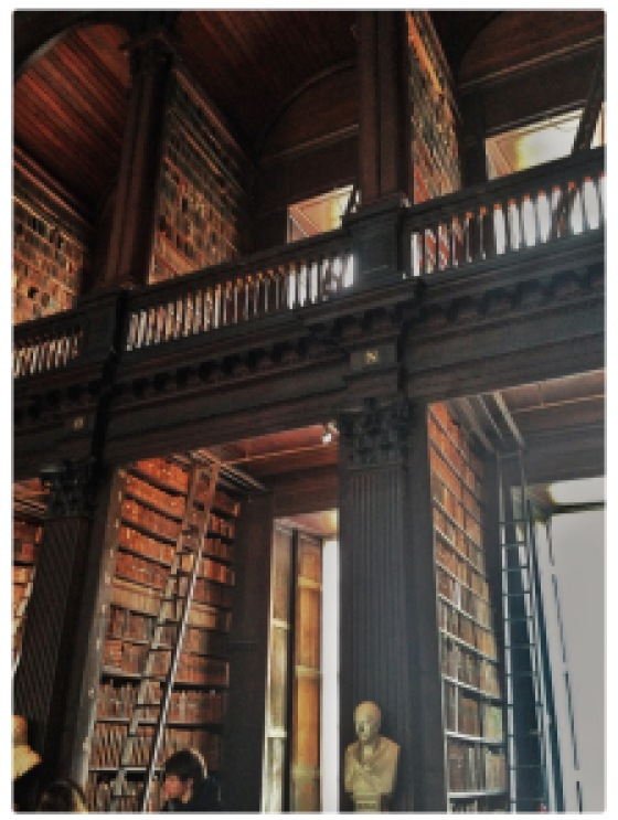 Dream library - Library at Trinity College in Dublin