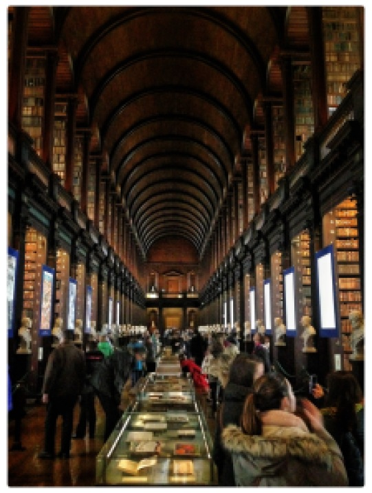 Library at Trinity College, Dublin, Ireland