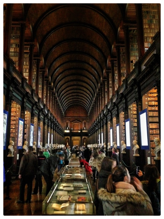 Library at Trinity College, Dublin, Ireland