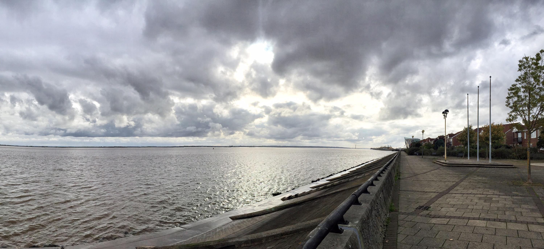 Humber River, Hull, England, UK, United Kingdom, Europe
