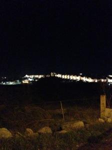 Avila, Spain #citywall #city #night