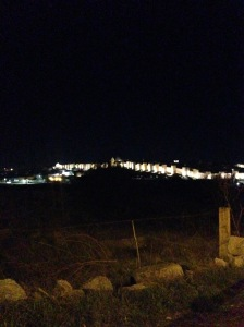 Avila, Spain #citywall #city #night