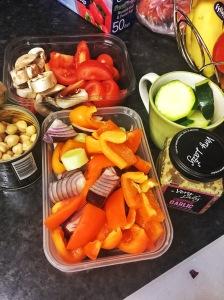 vegetables, pork chops, recipe
