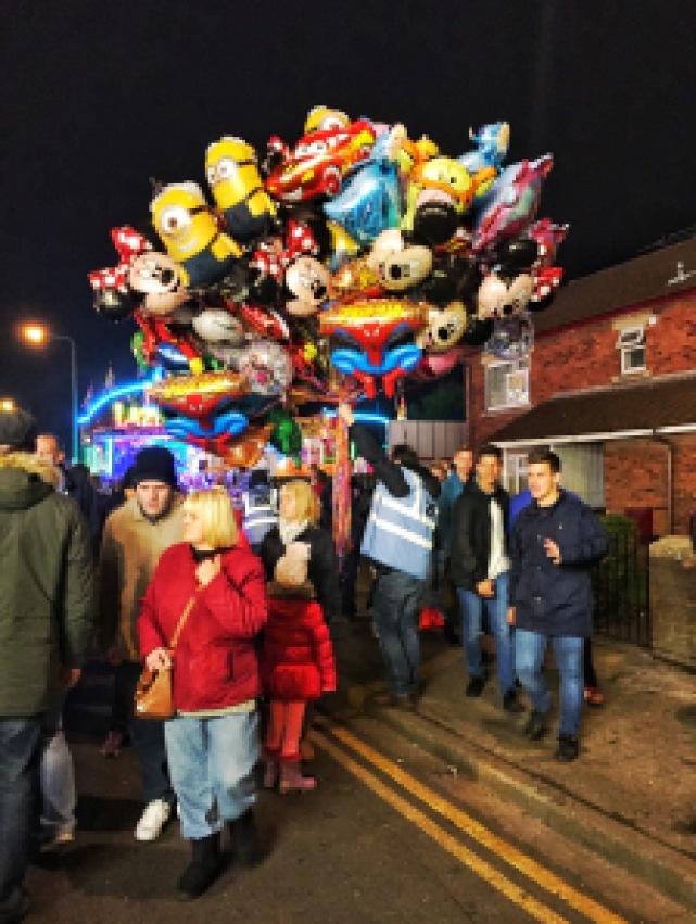 Balloons at the Hull Fair