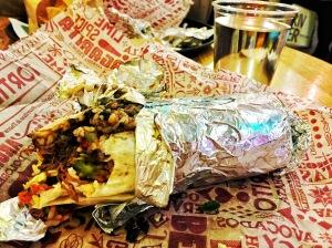 Mexican Burrito from Tortilla, Trinity Leeds, Leeds, England