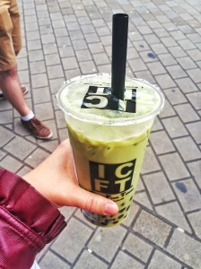 Matcha Green Tea Boba