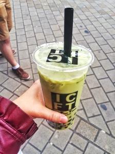 Matcha Green Tea Boba