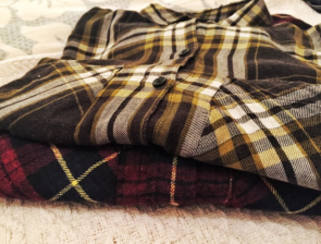 Flannel shirts, shopping, fall, autumn