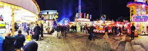 Hustle and bustle of the Hull Fair