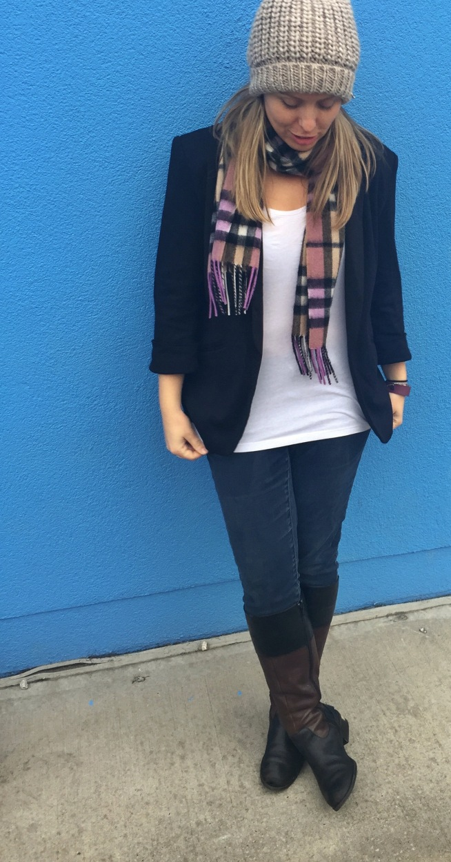 fall outfit, blazer