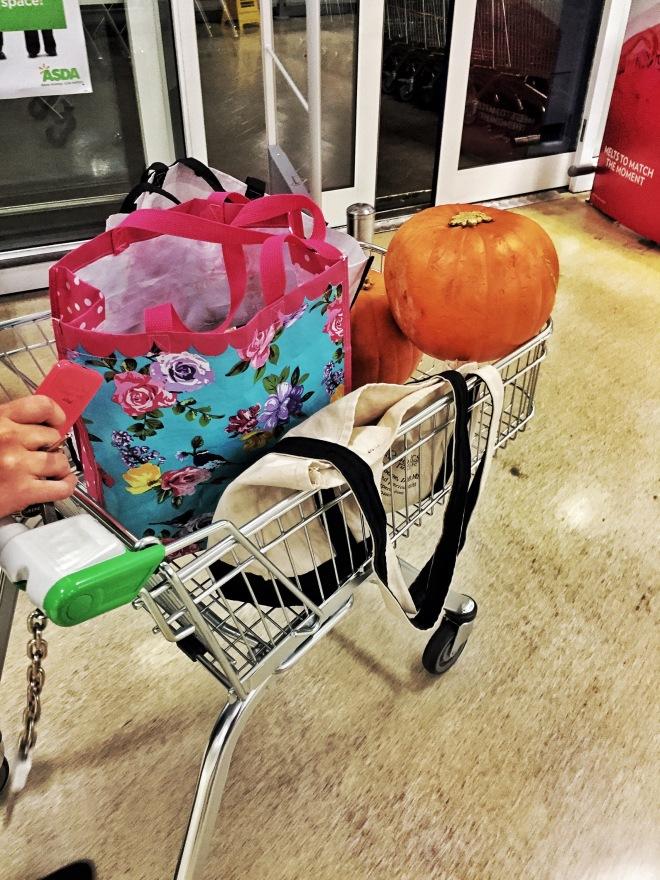 Asda shopping