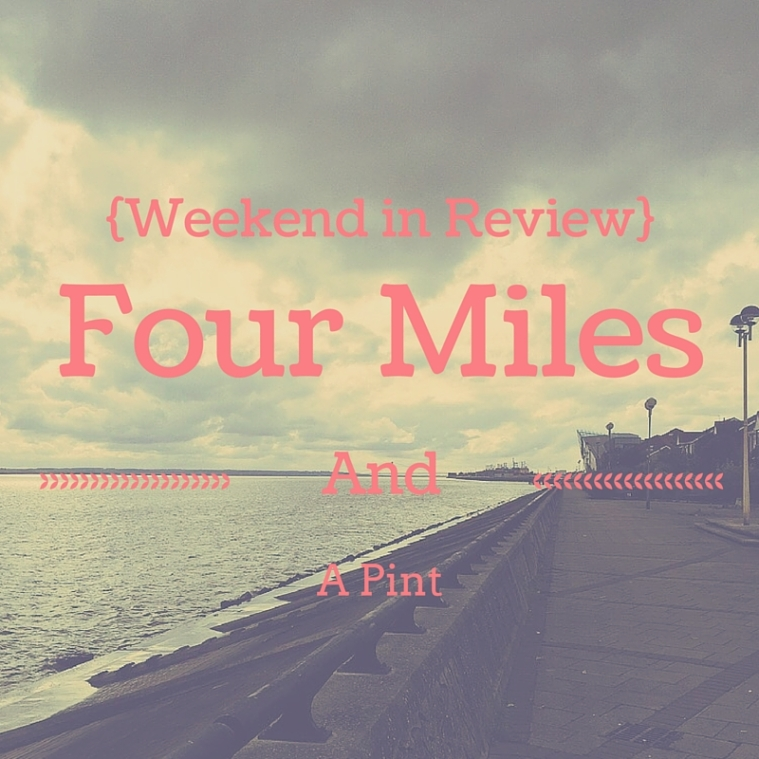 Four Miles and a Pint in HULL