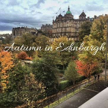 Autumn in Edinburgh - fall leaves