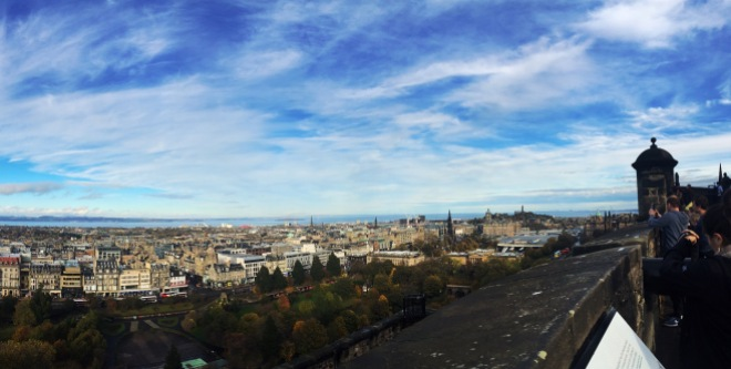 Spectacular View of Edinburgh