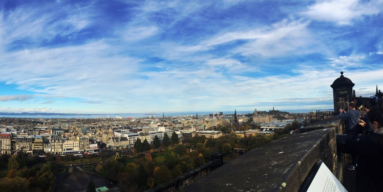 Spectacular View of Edinburgh