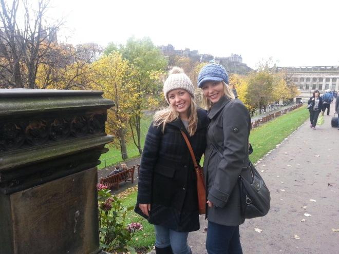 Edinburgh with Mama