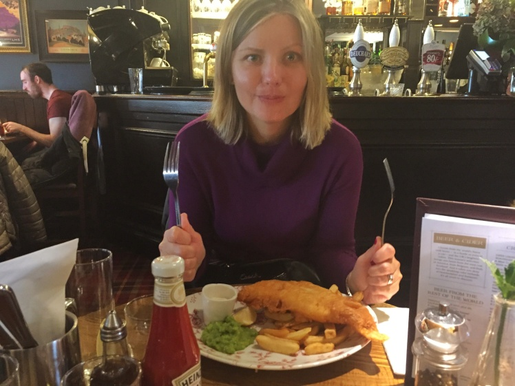 Deacon Brodies Tavern Edinburgh Fish and Chips