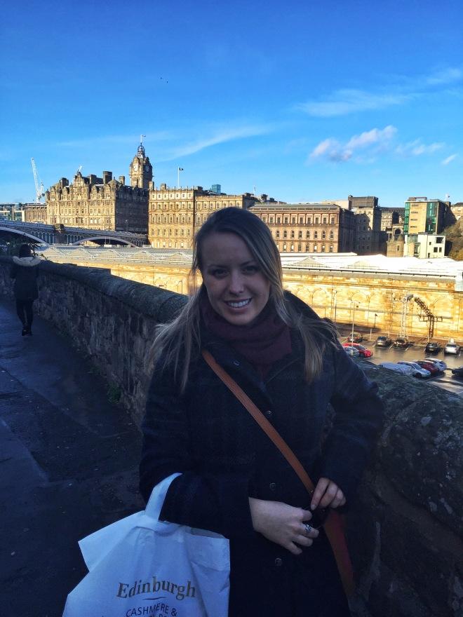 shopping and edinburgh
