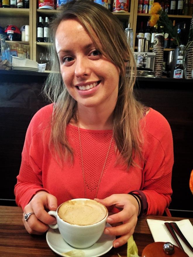 Coffee at La Laconda, Edinburgh